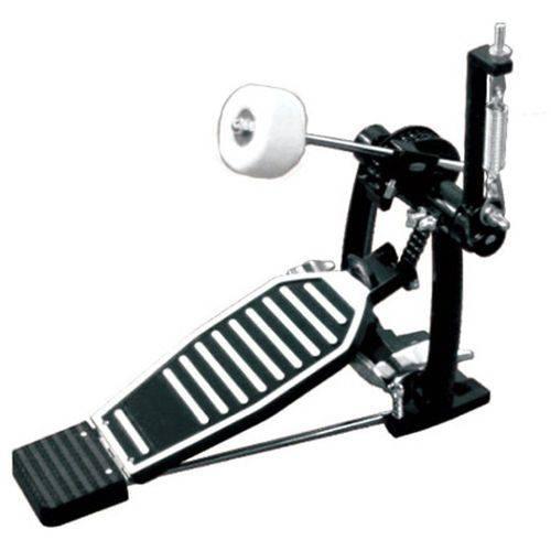 Pedal de Bumbo Premium para Bateria Pd1450 Cromado