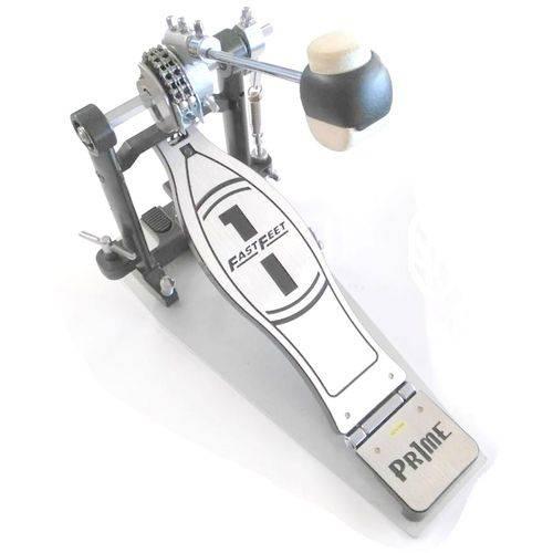 Pedal de Bumbo Simples Fast Feet com Case