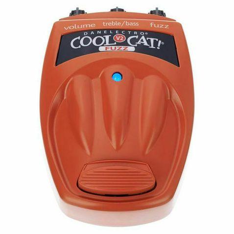 Pedal de Corda Danelectro Cf2 Cool Cat Fuzz Unico