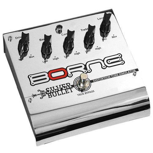 Pedal de Distorção para Guitarra Silver Bullet Borne