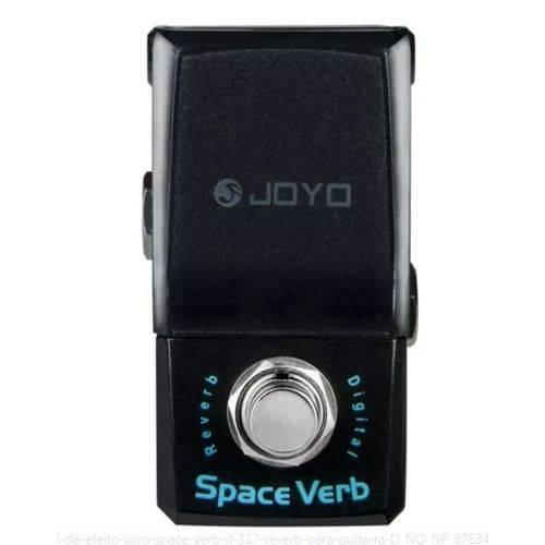 Pedal de Efeito Joyo Space Verb Jf-317 Reverb para Guitarra