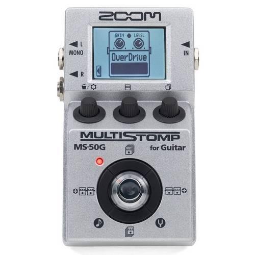 Pedal de Efeito Zoom para Guitarra Ms50g