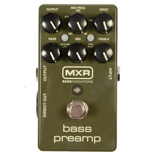 Pedal Contrabaixo Dunlop Mxr Bass Preamp