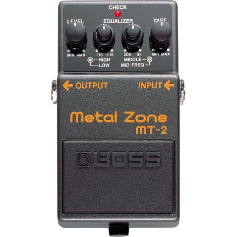 Pedal de Guitarra Boss Mt 2 Metal Zone