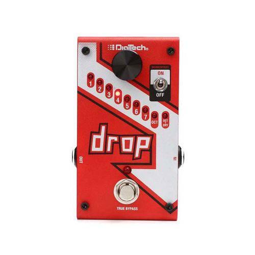 Pedal Digitech The Drop Polifônico Pitch Shifter com Fonte