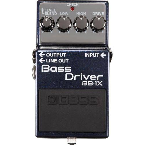 Pedal Driver para Baixo Bass Driver BB-1X - Boss