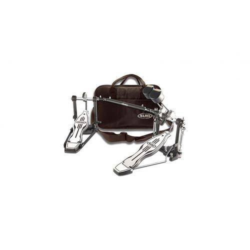 Pedal Duplo Corrente Simples P501tw Mapex C/bag