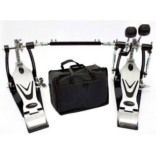 Pedal Duplo Premium Ddpd669 Double Chain Drive Corrente Dupla com Bag