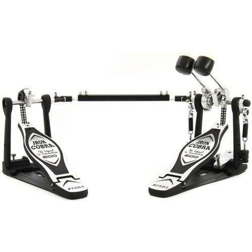 Pedal Duplo Tama Hp600dtwb Iron Cobra com Sistema Duo Glide