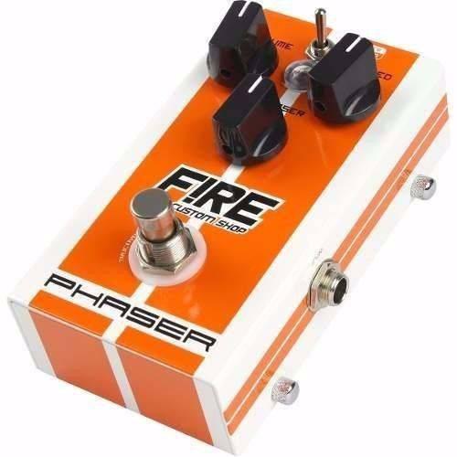 Pedal Efeito Fire Phaser Vibrato para Guitarra Baixo