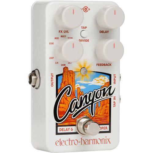 Pedal Electro Harmonix Guitarra Canyon Delay C/Fonte