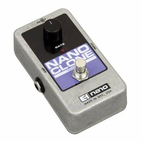 Pedal Electro Harmonix Guitarra Chorus Nano Clone