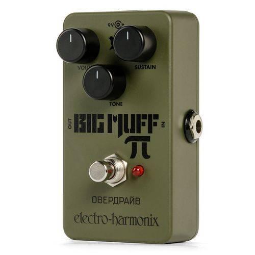 Pedal Electro Harmonix Guitarra Green Russian Big Muff