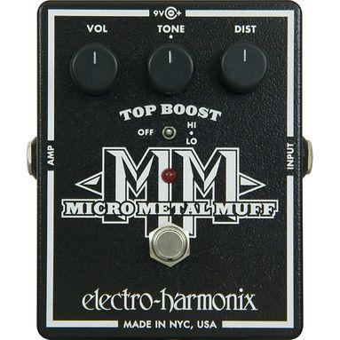 Pedal Electro Harmonix Micro Metal Muff Distortion