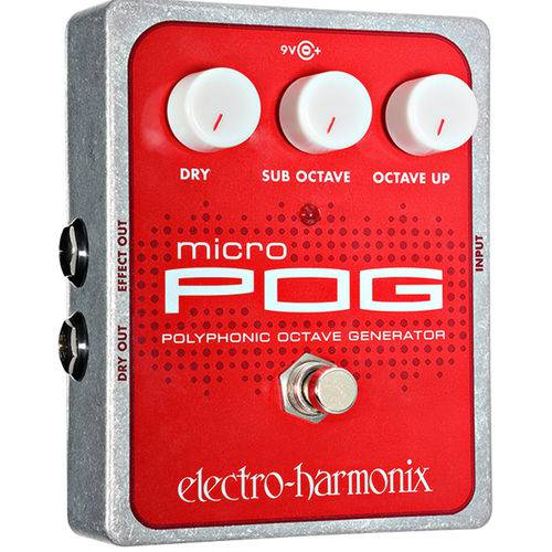 Pedal Electro Harmonix Micro Pog Polyphonic Octave Generator - Oitavador