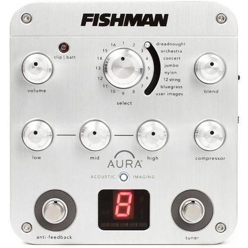 Pedal Equalizador Fishman Aura Spectrum DI para Violão