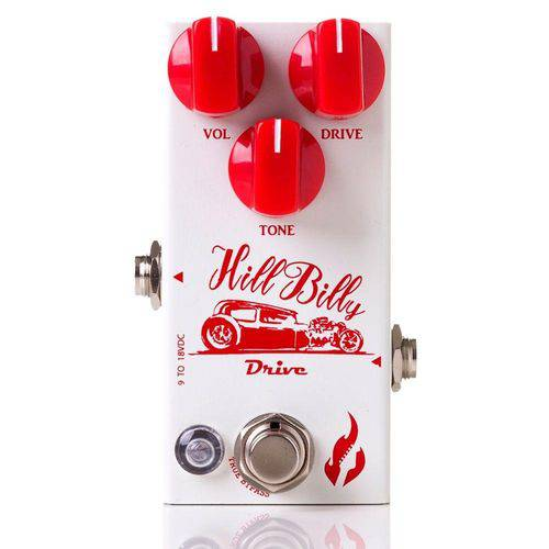 Pedal Fire Custom Shop Hill Billy Overdrive - Compacto