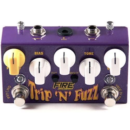 Pedal Fire Fuzz Trip N`fuzz
