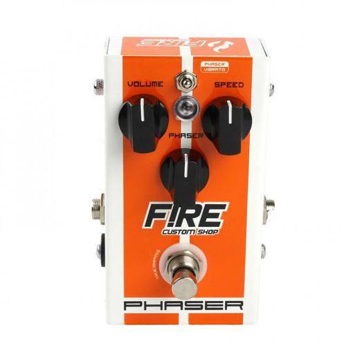 Pedal Fire Phaser/Vibrato para Guitarra/Baixo