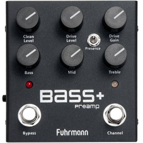 Pedal Fuhrmann Bass + Pré Amp Ba-1