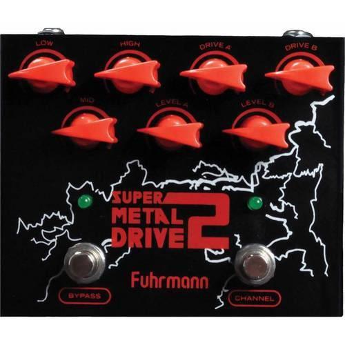 Pedal Fuhrmann Sm02 Super Metal Drive 2