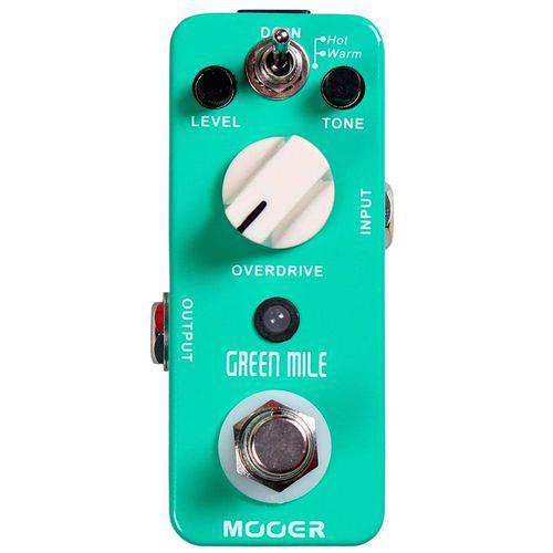 Pedal Green Mile Overdrive Ultra Compacto Mmo Mooer