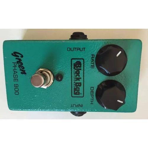 Pedal Guitar Green Phaser 900 Black Bug Tgp