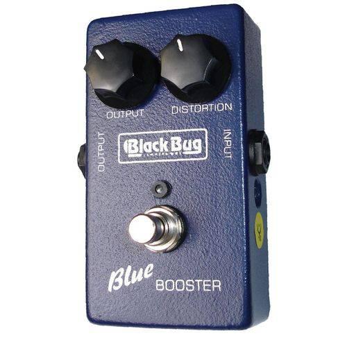 Pedal Guitarra Blue Booster Tbb Black Bug