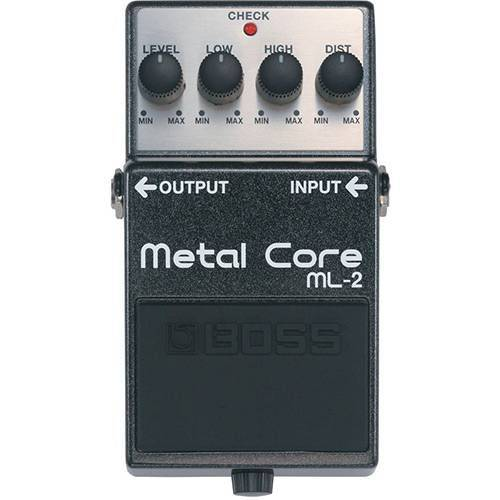 Pedal Guitarra Boss Distortion Metal ML 2