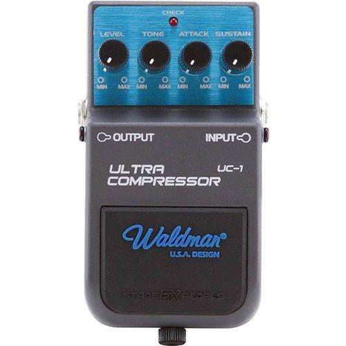 Pedal Guitarra Compressor Waldman Uc-1 Ultra Compressor