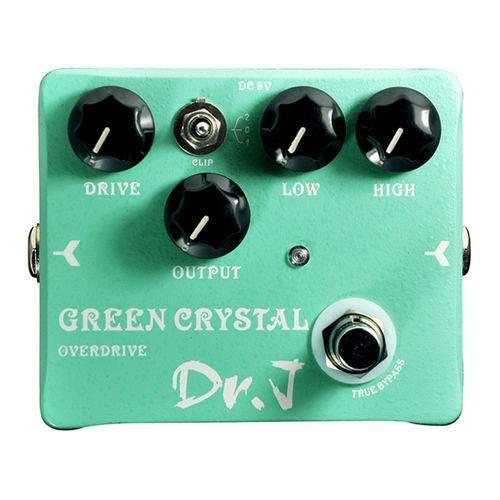 Pedal Guitarra Joyo Green Crystal Overdrive