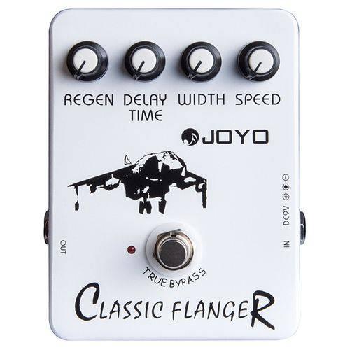 Pedal Joyo Classic Flanger | JF 07 | para Guitarra