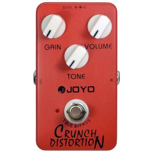 Pedal Joyo Crunch Distortion | JF 03 | para Guitarra