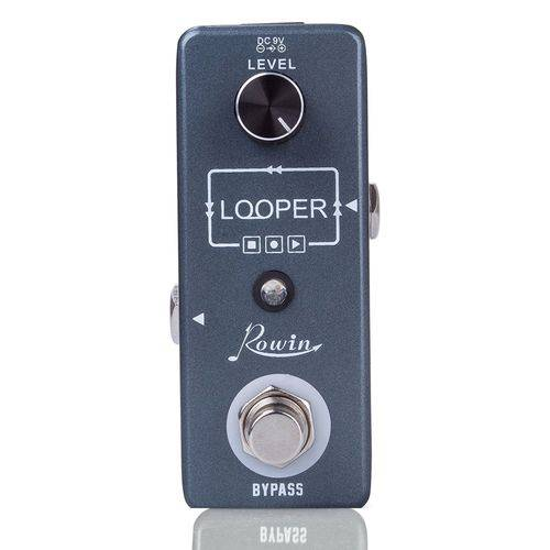 Pedal Loop de Guitarra Rowin Looper