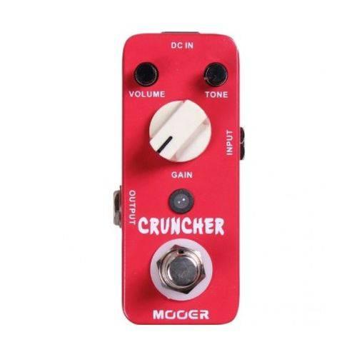 Pedal Mooer Cruncher Distortion Mcd - Original