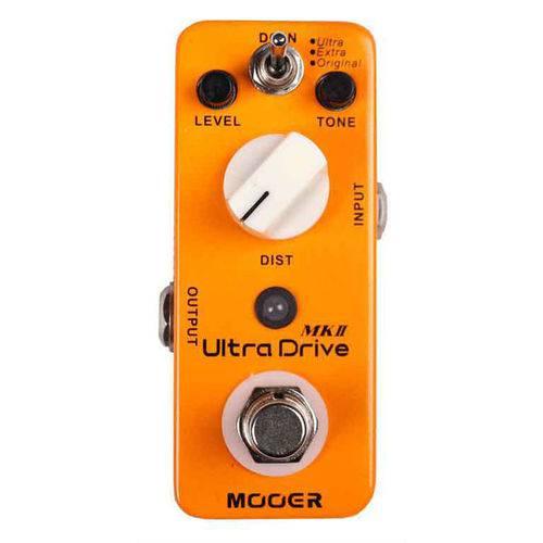 Pedal Distorção - Ultra Drive MKII Mooer