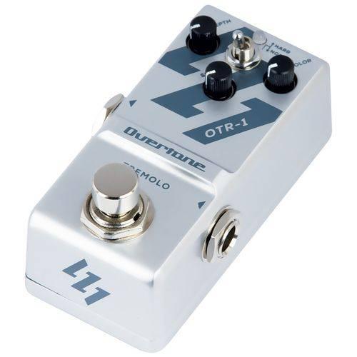 Pedal Overtone OTR-1   Tremolo   Compacto   para Guitarra
