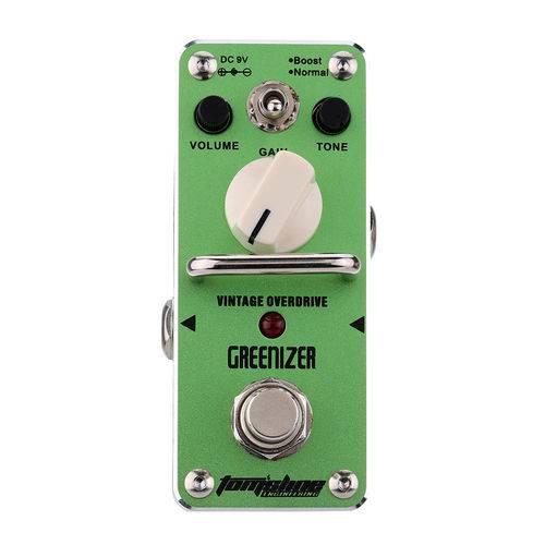 Pedal P/ Guitarra Tomsline Greenizer AGR-3 Overdrive - PD1004