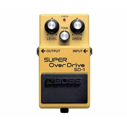 Pedal para Guitarra Boss Super Overdrive Sd-1 - Efeitos de Overdrive, Função Tone, Controle de Tonal