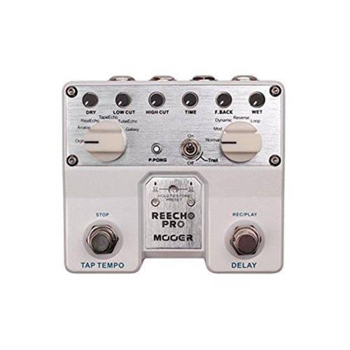 Pedal para Guitarra Mooer Tdl1 - Twin Reecho Pro Digital Delay