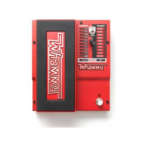 Pedal para Guitarra Whammy V Pitch Shifter Digitech e Fonte