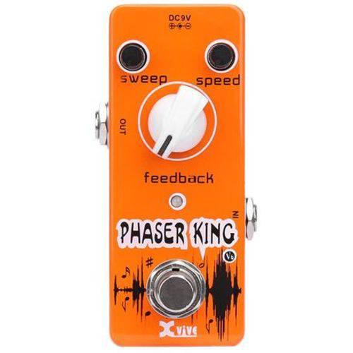 Pedal para Guitarra Xvive Phaser Classic Analog Phaser King Effect V6