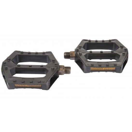 Pedal Plataforma em Nylon Rosca Grossa 9/16 One