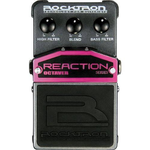 Pedal Rocktron Octaver Reaction