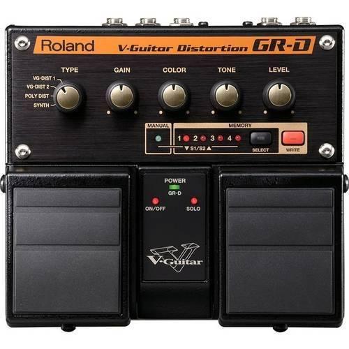 Pedal Roland Gr-D Boss Distorção Sintetizador V-Guitar