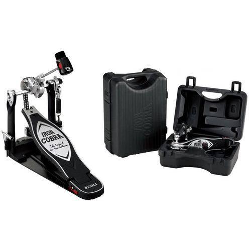 Pedal Single Tama New Iron Cobra Power Glide Hp900pn com Mola Extra Propulsora Cobra Coil e Case