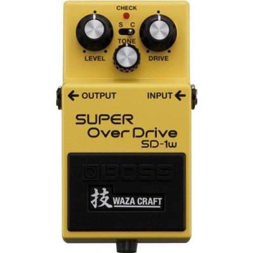 Pedal Super Overdrive Sd1w Waza Craft - Boss