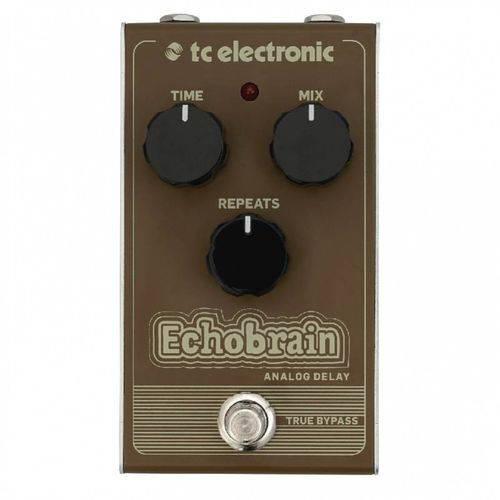 Pedal TC Electronic Echobrain Analog Delay Analógico para Gu