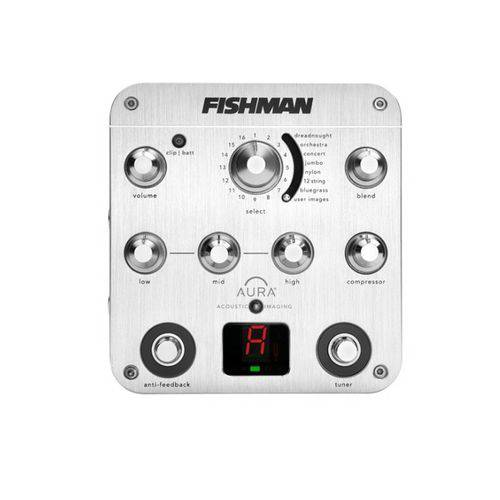 Pedal Violão Fishman Aura Spectrum DI PRO AUR SPC