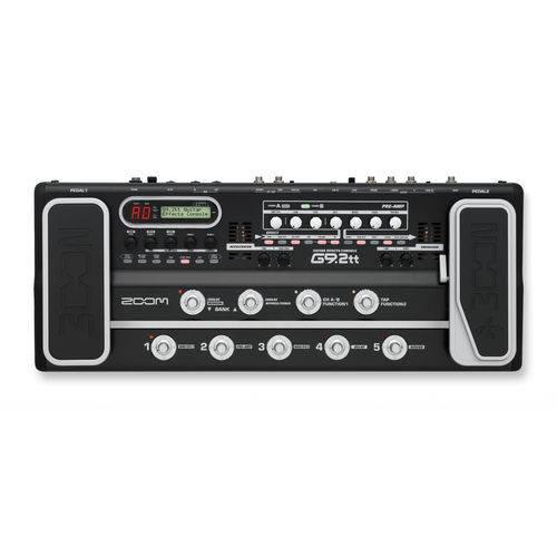 Pedaleira para Guitarra Zoom G9.2tt Valvulada